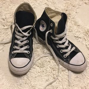 Black Chuck Taylor High Top Converse